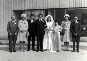 Pat and John Harris 1971